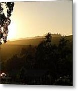 Sun Down Metal Print by Shawn Marlow