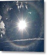 Sun Halo Metal Print by Lainie Wrightson