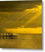 Sunbeams Of Hope Metal Print by Marvin Spates