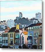 Sunday At Marina Green Park Fort Mason San Francisco Ca Metal Print by Artist and Photographer Laura Wrede