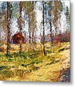 Sunny Day In April Metal Print by Yury Malkov
