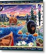 Sunrise At Bear Lake Metal Print by Harriet Peck Taylor