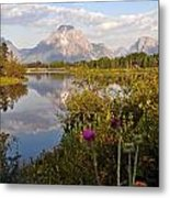 Sunrise At Oxbow Bend 5 Metal Print by Marty Koch