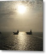 Sunrise At Sea Metal Print by Mountain Dreams
