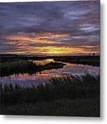 Sunrise On Lake Shelby Metal Print by Michael Thomas