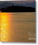 Sunset Asia  Metal Print by Adrian Evans