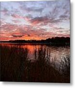Sunset Bliss Metal Print by Lourry Legarde