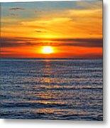 Sunset In San Clemente Metal Print by Mariola Bitner