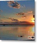 Sunset On Key Largo Metal Print by Mel Steinhauer