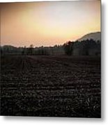 Sunset On The Adda Metal Print by Matteo Musso