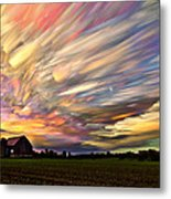 Sunset Spectrum Metal Print by Matt Molloy