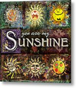 Sunshine Metal Print by Evie Cook