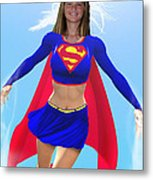 Super Nina Metal Print by Allan  Hughes