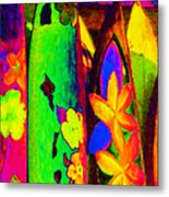 Surf Boards V2 Metal Print by Wingsdomain Art and Photography