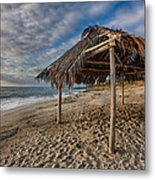Surf Shack Metal Print by Peter Tellone