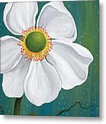 Surfacing Metal Print by Tanielle Childers