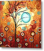 Surrounded By Love By Madart Metal Print by Megan Duncanson