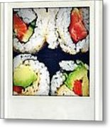 Sushi Metal Print by Les Cunliffe