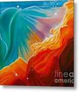 Swan Nebula Metal Print by Barbara McMahon
