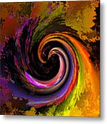 Sweeping Color Metal Print by Claude McCoy