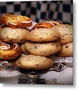 Sweet - Cookies - Cookies And Danish Metal Print by Mike Savad
