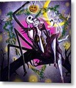 Sweet Loving Dreams In Halloween Night Metal Print by Alessandro Della Pietra
