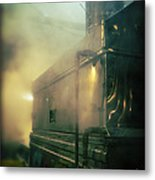 Sweet Steam Metal Print by Edward Fielding