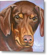 Sweetest Rescue Metal Print by Susan A Becker