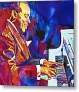Swinging With Count Basie Metal Print by David Lloyd Glover