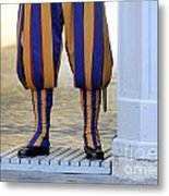Swiss Guards. Vatican Metal Print by Bernard Jaubert