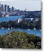 Sydney Harbour Metal Print by Steven Ralser