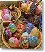 Symbols Of Easter- Spiritual And Secular Metal Print by Gary Holmes