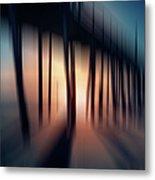 Symphony Of Shadow - A Tranquil Moments Landscape Metal Print by Dan Carmichael