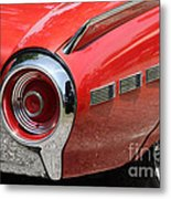 T-bird Tail Metal Print by Dennis Hedberg