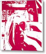 Ta Ta Telephone Metal Print by Monica Warhol