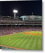 Take Me Out To The Ballgame Metal Print by Juergen Roth