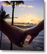 Take My Hand Metal Print by Doug Kreuger