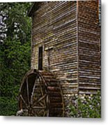 Tall Mill Metal Print by Dave Bosse