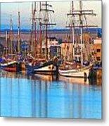 Tall Ships Metal Print by Bill  Robinson