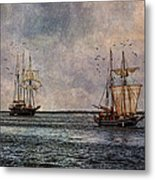 Tall Ships Metal Print by Dale Kincaid