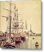 Tall Ships Metal Print by Joel Witmeyer