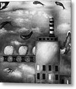 Tangerine Dream Edit 3 Metal Print by Leah Saulnier The Painting Maniac