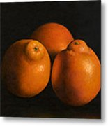 Tangerines Metal Print by Anthony Enyedy