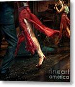 Tango Reflection Metal Print by Michel Verhoef