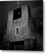 Taos Church Metal Print by Jeff Klingler
