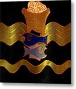 Tapestry Of Holy Sacraments 2 Metal Print by Antonia Citrino