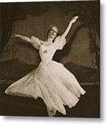 Tatiana Riabouchinska In Les Sylphides Metal Print by French Photographer