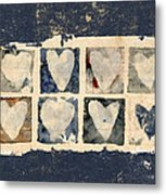 Tattered Hearts Metal Print by Carol Leigh