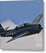 Tbm-3 Avenger Metal Print by Tommy Anderson