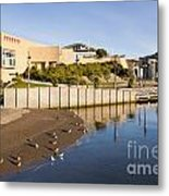 Te Papa Wellington New Zealand Metal Print by Colin and Linda McKie